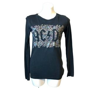 NEW AC/DC Lucky Brand Long Sleeve T-shirt XS